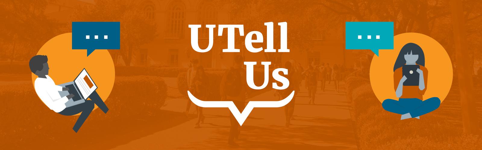 UTell Us banner